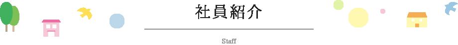 社員紹介_Staff